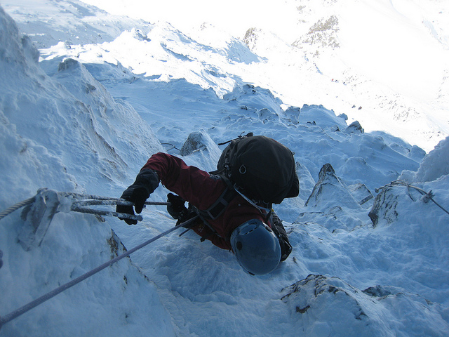scalata alpinismo Monte Bianco