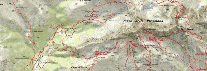 Valle Seriana mappa